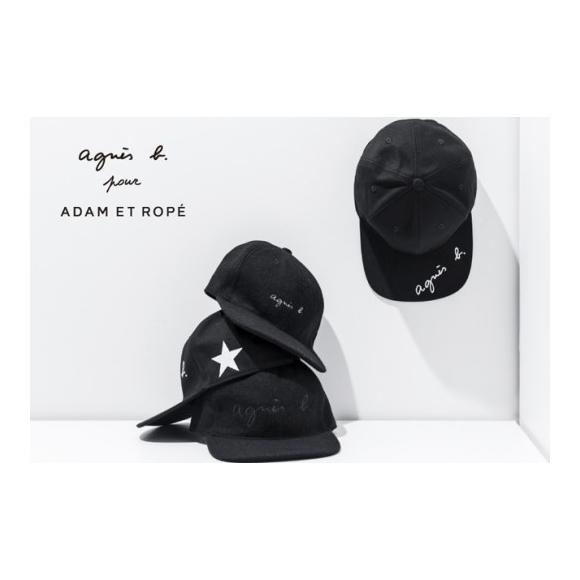fe285e830c8 agnes b. pour ADAM ET ROPE SPECIAL LOGO CAP