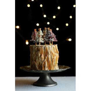特大バウムのクリスマスケーキ