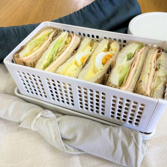 春にぴったりサンドイッチケース