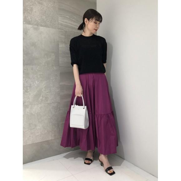 ロングバルーンスカート