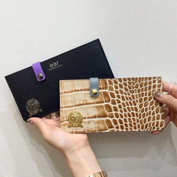 【A.D.M.J.】薄型長財布8月の新色♩
