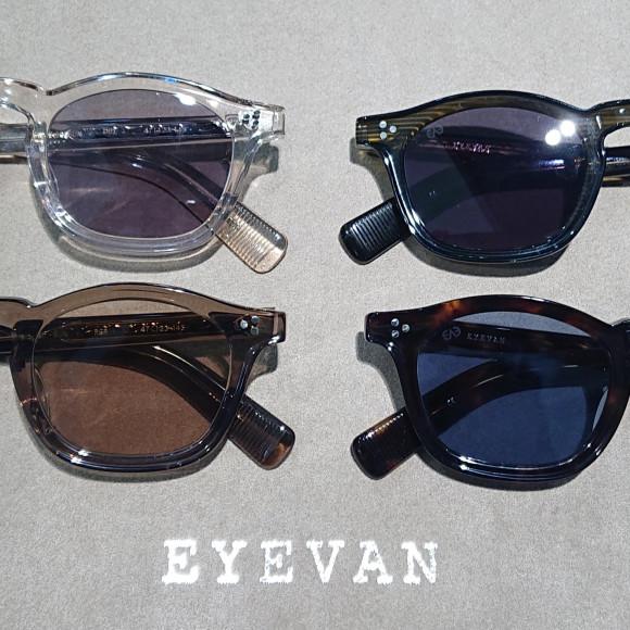 EYEVANよりサングラスのご紹介♪