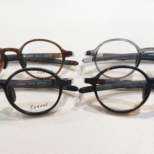 【Eyevol】ストレスフリーにかけられる丸メガネ!