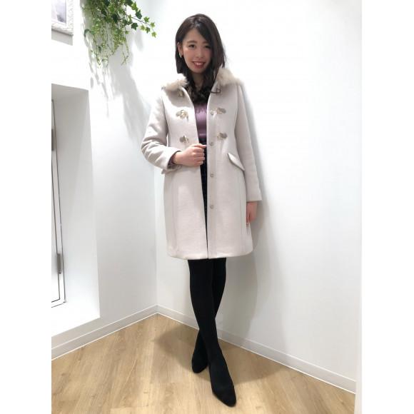 ♡50%OFF ロングダッフルコート♡