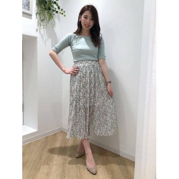 ♡小花柄プリーツスカート♡