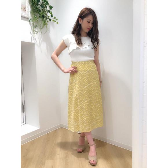 ♡変形レオパードAラインスカート♡