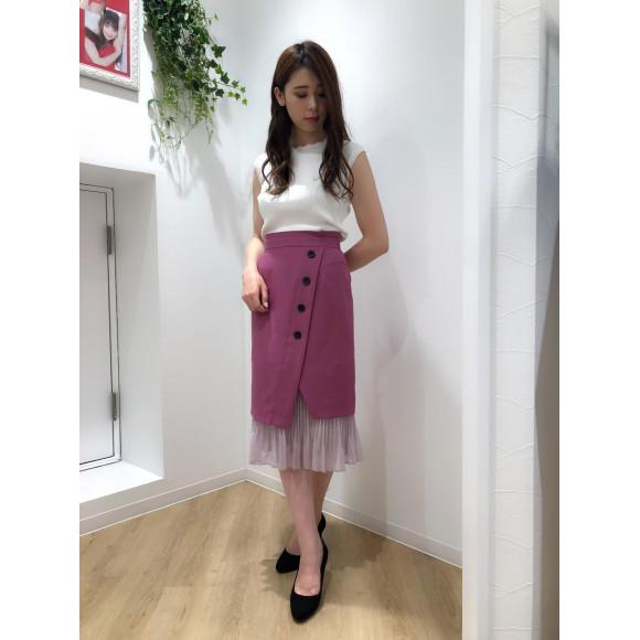 ♡2WAY裾プリーツスカート♡