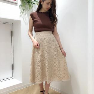 ♡ジャガードフレアスカート♡