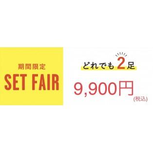 2点9900円のセットフェア延期決定!!