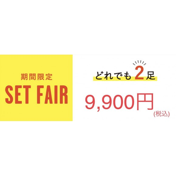 2足9,900円♡