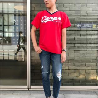 広島東洋CARP×VICKYコラボTシャツ【メンズ】
