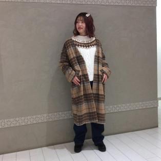 ノーカラーコート☆