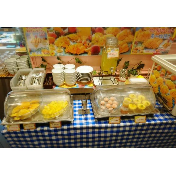 マンゴー食べ放題❤13日まで!