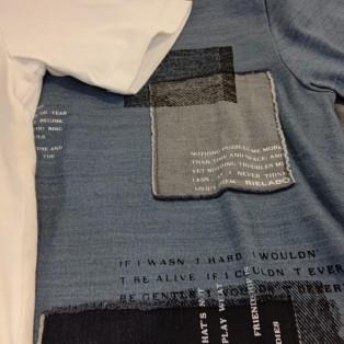 新作アイテム紹介 リエラボデニムTシャツ