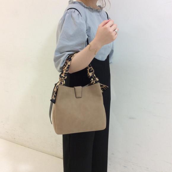 【DEEP】スカーフ付き 2Wayバッグ