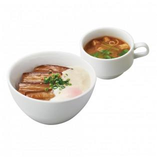 新food menu*豚角煮とろろ丼