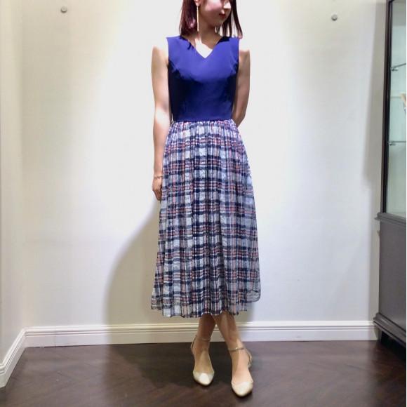 ♡チェック柄ドレス♡