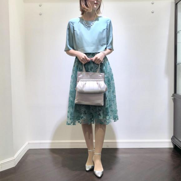 ♡チュールフロッキードレス♡