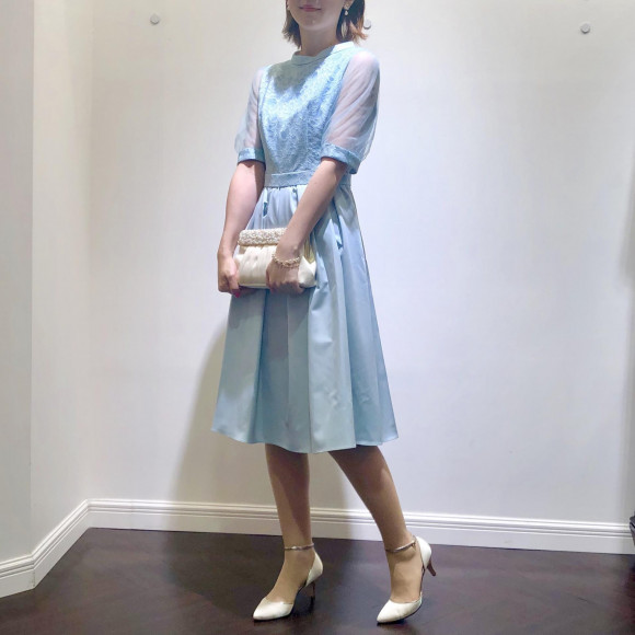 ♡ふんわりボリューム袖ドレス♡