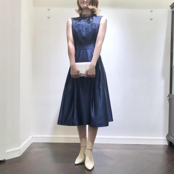 ♡リリアンテープ刺繍ドレス♡