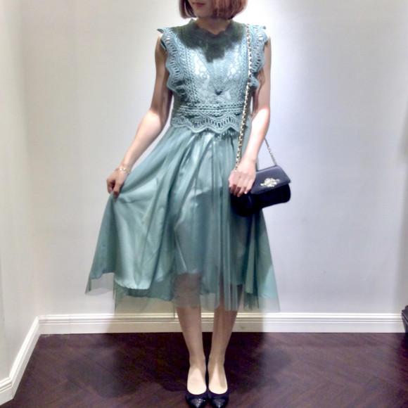 ♡ケミカルレース ドレス♡