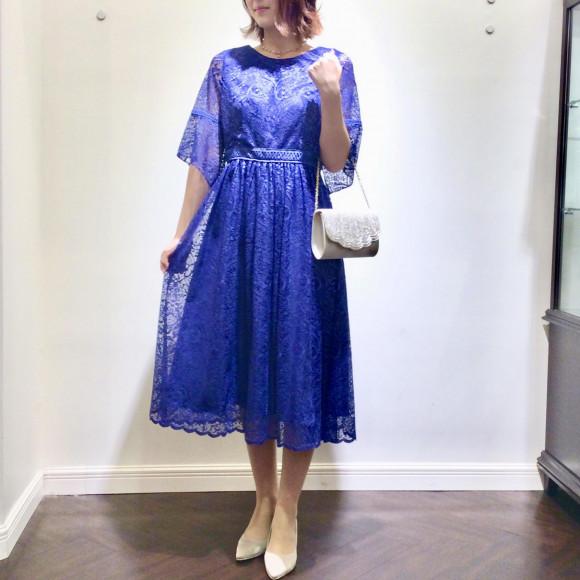 ♡ペイズリー柄ドレス♡