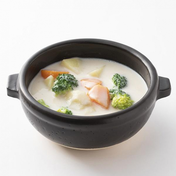 伊賀焼のスープボウル 。