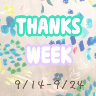 THANKS WEEK☆ミ