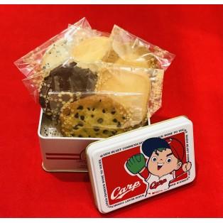 ステラおばさんのクッキーカープコラボ缶発売