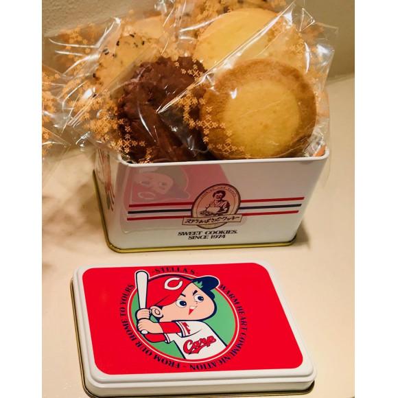 広島東洋カープとステラおばさんのコラボ缶登場‼️