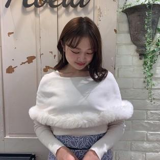 新作!オパールレーススカート&ファートリムカラーニット♡