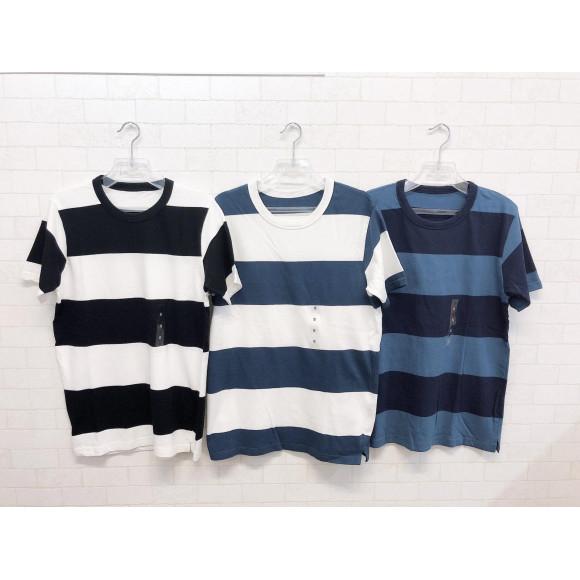 NEW☆太ボーダーTシャツ(3色×各4サイズ)