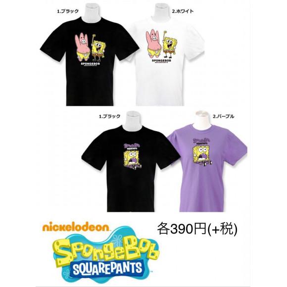 NEW☆スポンジボブ(Tシャツ)