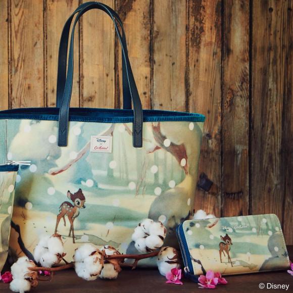ディズニー×キャス キッドソン「バンビ」コレクションが12月7日(金)より発売開始