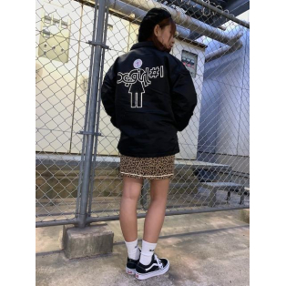#1 X-girl x GIRL SKATEBOARDS COACH JACKET
