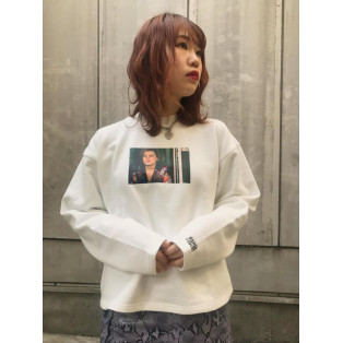 X-girl × ROMEO+JULIRT HAVYWEIGHT L/S TEE