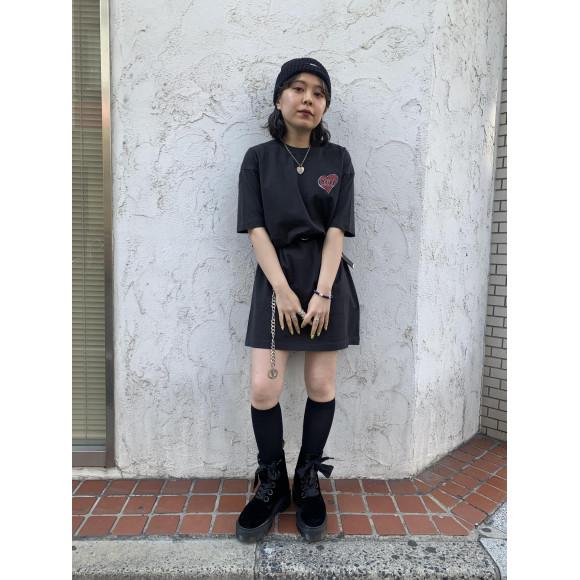 TWINS S/S TEE DRESS