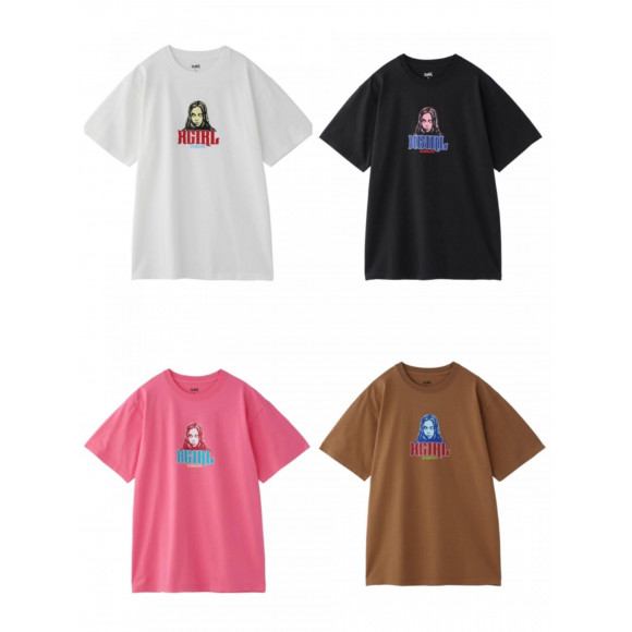 COLOR FACE S/S TEE