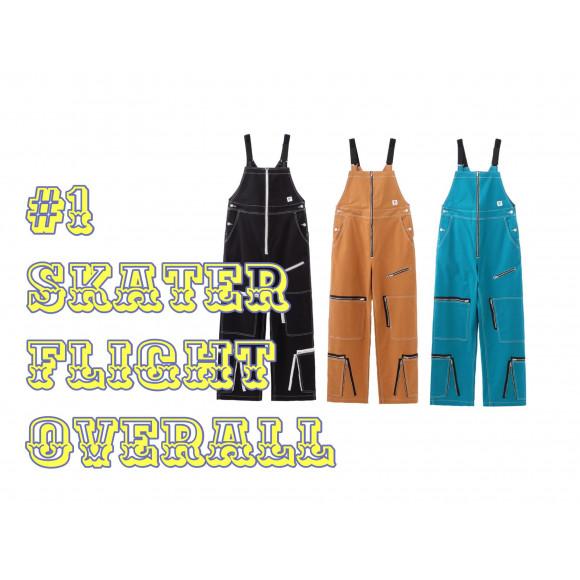 #1 SKATER FLIGHT OVERALL  ✈︎