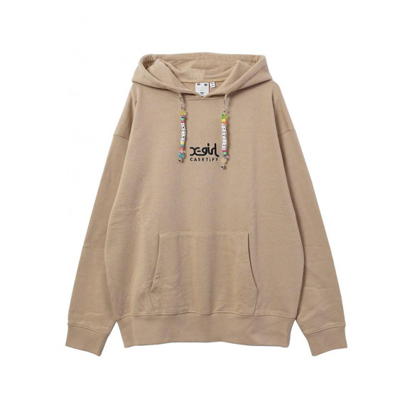 X-girl × CASETiFY CHARM SWEAT HOODIE