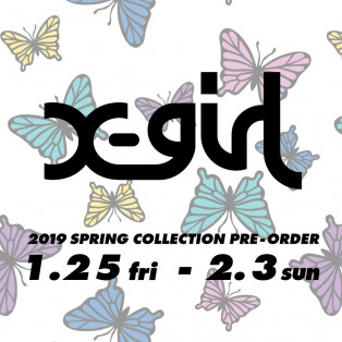 2019 SPRING COLLECTION PRE-ORDER
