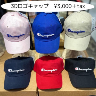 champion CAP☆新作入荷!!