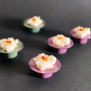 小皿と菊花カブ
