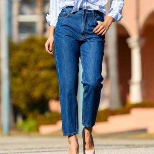 MARILYN MARILYN HIGH RISE SLIM TAPERED DENIM PANT 【JAPAN EXCLUSIVE ITEM】