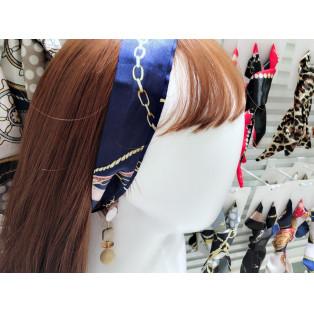 ♪スカーフ+ピアス♪