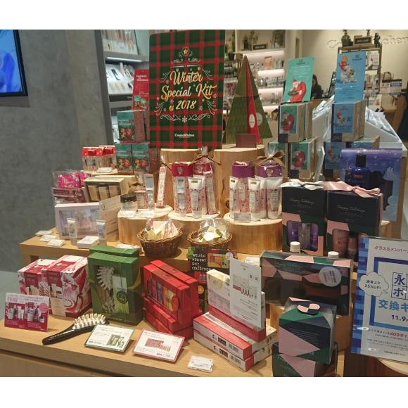 【本館1Fコスメキッチン】クリスマスコフレ発売中!