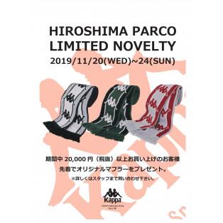 HIROSHIMA PARCO LIMITED NOVELTY 2019/11/20(WED)~24(SUN)