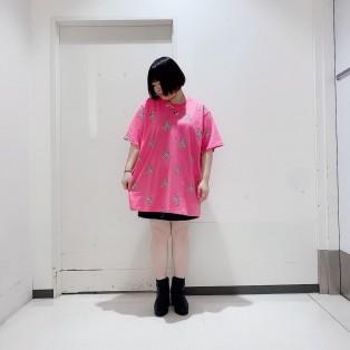 ♡プードル柄Tシャツ♡
