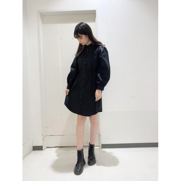 ☆ウエストギャザーシャツワンピース☆