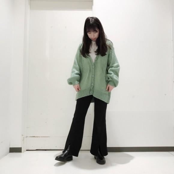 ♡透かし編みニットカーディガン♡